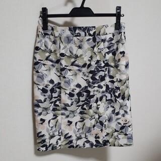 クードシャンス(COUP DE CHANCE)のクードシャンス 花柄スカート(ひざ丈スカート)