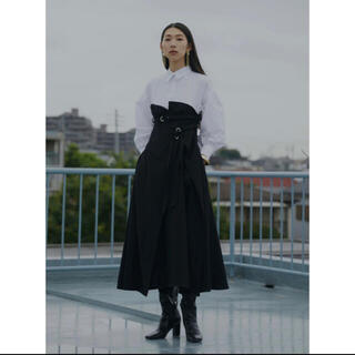 Ameri VINTAGE - AMERI MILLEFUILLE SHIRT DRESS