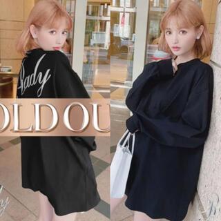 レディー(Rady)の新品♡Rady♡バックロゴロングTシャツ♡(Tシャツ(長袖/七分))