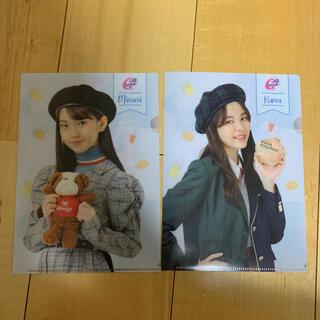 girls2 クリアファイル 2枚セット 菱田未渚美・増田來亜
