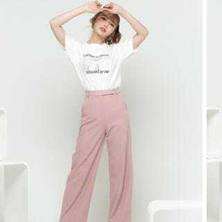 eimy istoire - ダーリッチ♡ロマンティックTシャツ ピンク