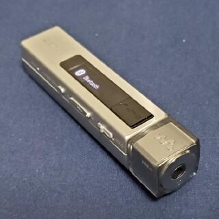 ウォークマン(WALKMAN)の美品 ノイズキャンセリングWALKMAN NW-M505 シルバー(ポータブルプレーヤー)