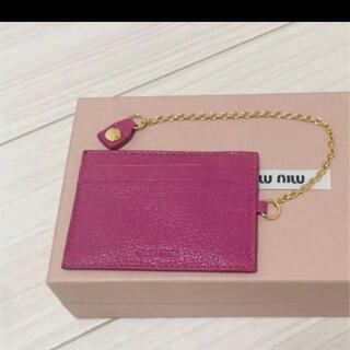 miumiu - miu miuカードケース