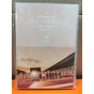 BTS WORLD  TOUR 'SPEAK YOURSELF'(通常盤)DVD