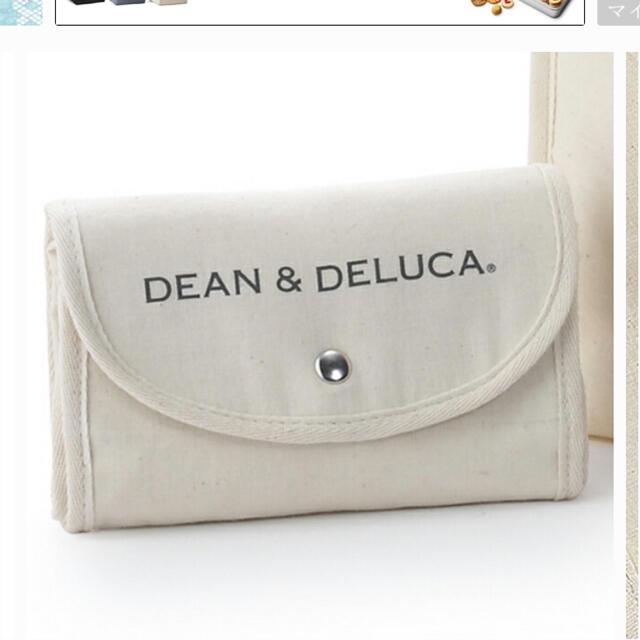 DEAN & DELUCA(ディーンアンドデルーカ)のディーンアンドデルーカ ショッピングバッグ レディースのバッグ(エコバッグ)の商品写真