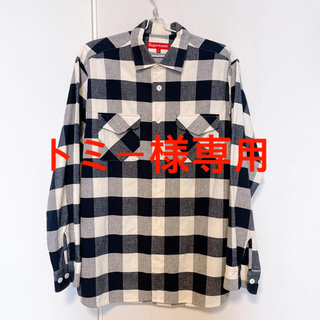 Supreme - supreme heavy weight flannel shirt Lサイズ