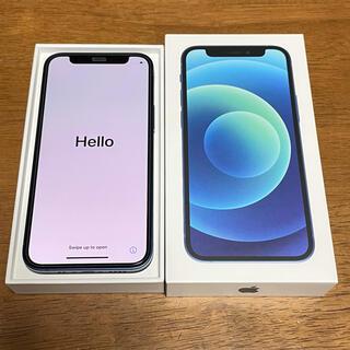 Apple - iPhone12mini 64GB ブルー 中古 apple版SIMフリー