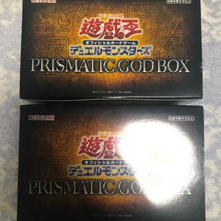 コナミ(KONAMI)の遊戯王 PRISMATIC プリズマティックゴッドボックス(Box/デッキ/パック)