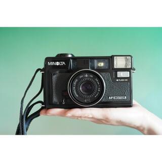 コニカミノルタ(KONICA MINOLTA)の【完動品】Minolta himatic AF2 MD カッコいいクラカメ(フィルムカメラ)