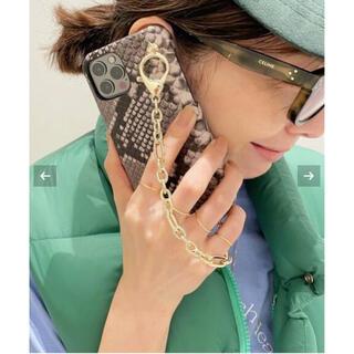 アパルトモンドゥーズィエムクラス(L'Appartement DEUXIEME CLASSE)のGOOD GRIEF! Python I Phone Case 120(iPhoneケース)
