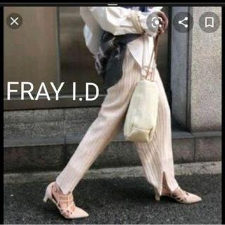 フレイアイディー(FRAY I.D)のフレイアイディー シースルーニットパンツ(カジュアルパンツ)