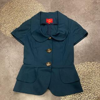 Vivienne Westwood - モスグリーン半袖ジャケット