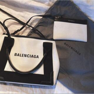 Balenciaga - バレンシアガ ネイビーカバスXS  ハンドバッグ