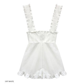 Katie - Katie NO COUNTRY frilled combinaison