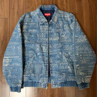 Supreme Checks Embroidered Denim Jacket