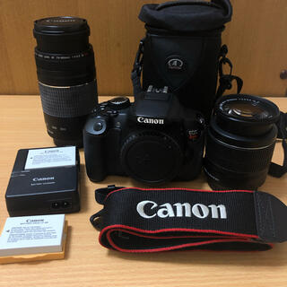 Canon - 【Canon】EOS Kiss X6i /REBEL T4i Wズームキット