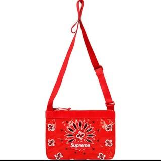Supreme - Supreme Bandana Tarp Side Bag 値下げあり!