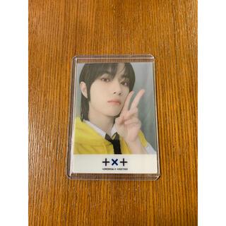 TXT CD アルバム weverse クリアトレカ ボムギュ