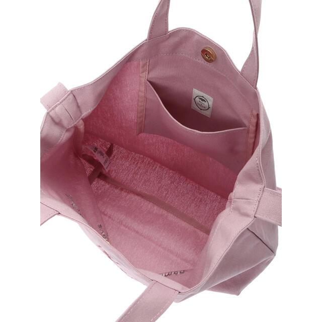 Maison de FLEUR(メゾンドフルール)のMaison de FLEUR ブランドロゴキャンバス2Wayトートバッグ レディースのバッグ(トートバッグ)の商品写真