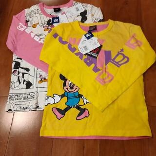 BABYDOLL - 130サイズ Babydoll ディズニーシャツ 2枚セット ロングTシャツ