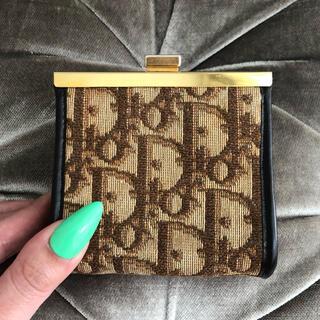 Christian Dior - クリスチャンディオール 🤎❤️ ヴィンテージ トロッター コインケース