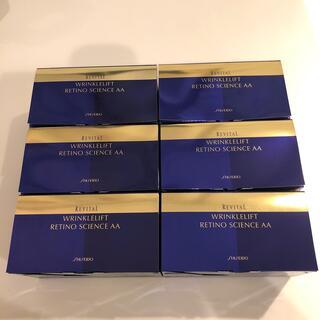 リバイタル(REVITAL)の【新品】リバイタル リンクルリフト レチノサイエンスAA N 6箱セット(パック/フェイスマスク)