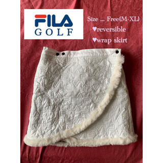 FILA - Fila Golf リバーシブル 巻きスカート フリーサイズ