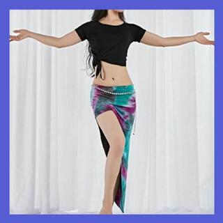 ベリーダンス 衣装 チョリ + ヒップスカーフ セットアップ x01(ダンス/バレエ)