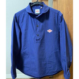 DANTON - ダントン メンズ ラウンドカラー プルオーバーシャツ