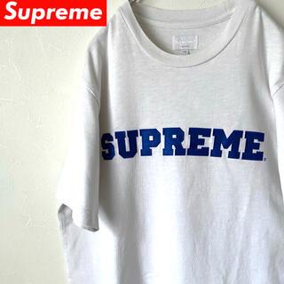 Supreme - 【送料込み】SUPREME/シュプリーム/17SS/Logo/Tシャツ/ホワイト