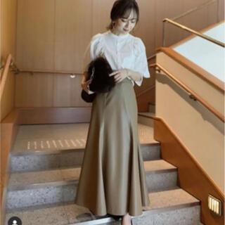 Noble - anuans エコレザーマーメイドスカート