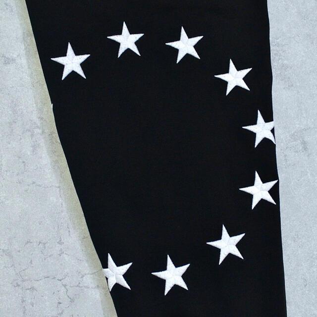 1piu1uguale3(ウノピゥウノウグァーレトレ)の◎定価3.3万◎Etudes◎エチュード◎ポルトガル製◎ジョガーパンツ◎星刺繍◎ メンズのパンツ(その他)の商品写真