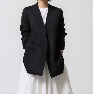 ドゥロワー(Drawer)のSHE TOKYO シートーキョー Taylor black 定番ジャケット 0(テーラードジャケット)