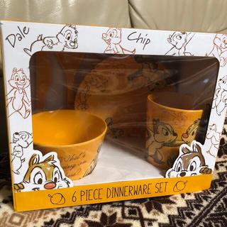 チップ&デール - ディズニー チップ&デール 食器 皿 カトラリー