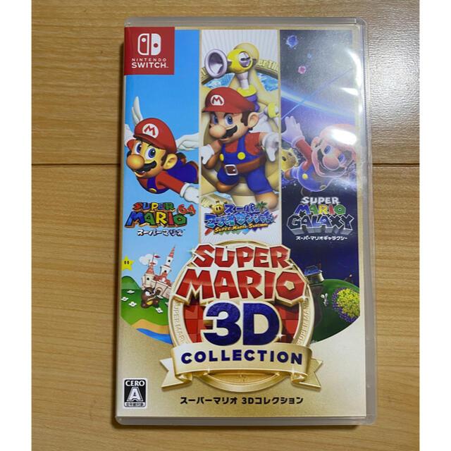 Nintendo Switch(ニンテンドースイッチ)のちけい様専用 スーパーマリオ 3Dコレクション Switch エンタメ/ホビーのゲームソフト/ゲーム機本体(家庭用ゲームソフト)の商品写真