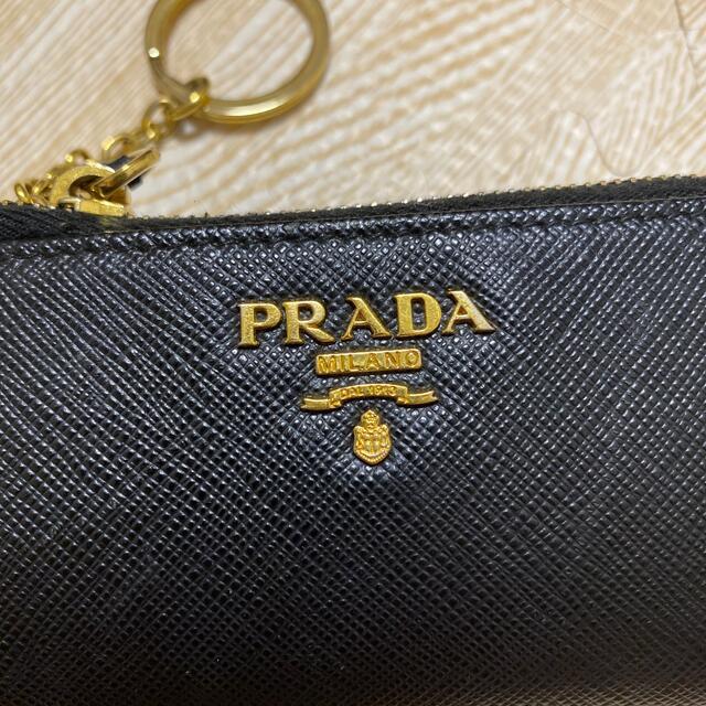 PRADA(プラダ)のPRADA サフィアーノ キーケース レディースのファッション小物(キーケース)の商品写真