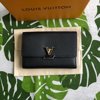 LOUIS VUITTON - ルイヴィトン カプシーヌ コンパクト ミニ財布