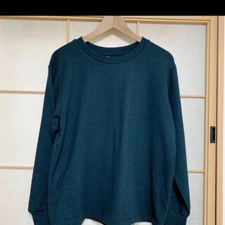 UNIQLO - ユニクロ UNIQLO ニット グリーン XL 緑 長袖