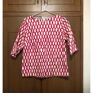 マリメッコ(marimekko)のマリメッコ   トップス PIKKU SUOMU  うろこ柄(Tシャツ(半袖/袖なし))