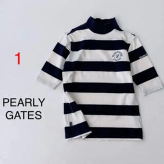 PEARLY GATES - PEARLY GATES ▫️ モックシャツ