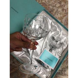 ティファニー(Tiffany & Co.)のティファニー ペア ワイングラス(グラス/カップ)