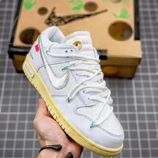 ナイキ(NIKE)のOff White x Nike Dunk Low (スニーカー)