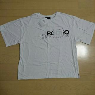 ロデオクラウンズワイドボウル(RODEO CROWNS WIDE BOWL)のロデオクラウンズ ワイド ボウル ロゴ Tシャツ(Tシャツ(半袖/袖なし))