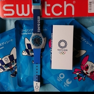 swatch - 【非売品】★おまけ付き TOKYO2020  オリンピック 記念スウォッチ