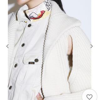 トーガ(TOGA)の【TOGA PULLA(トーガ プルラ)×LEE】コラボ ニットジージャケット(ニット/セーター)