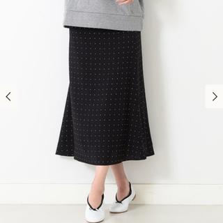 ビームス(BEAMS)の新品タグ付き ビームスライツ ドットスカート(ロングスカート)
