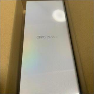 オッポ(OPPO)のOPPO Reno A ブラック 6GB 64GB CPH1983 SIMフリー(スマートフォン本体)