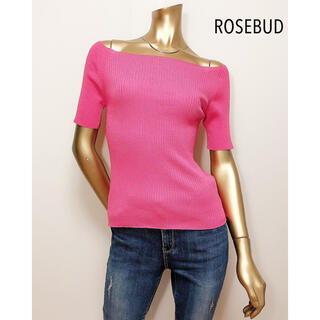 ローズバッド(ROSE BUD)のROSE BUD オフショル カットソー*ビームス ZARA UNTITLED(カットソー(半袖/袖なし))