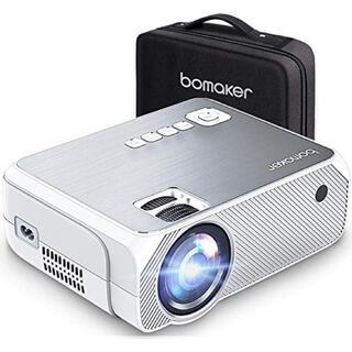 プロジェクター 美品 4000lm BOMAKER 1080PフルHD対応(プロジェクター)
