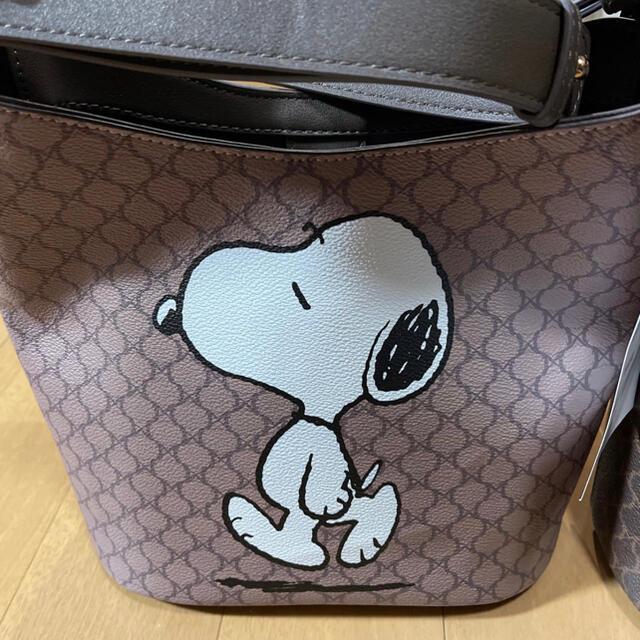 しまむら(シマムラ)のしまむら スヌーピーバック レディースのバッグ(ショルダーバッグ)の商品写真